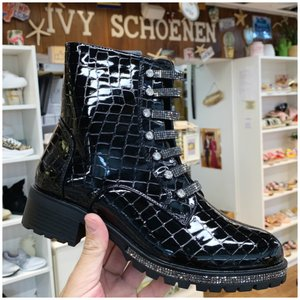Boots FERNANDO - Zwart Croco