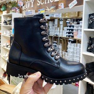 Boots CHANO - Zwart/zilver GUN