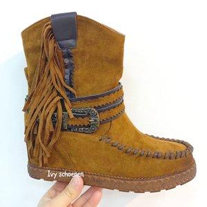 Boots ELVISSA - Camel
