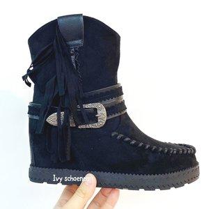 Boots ELVISSA - Zwart