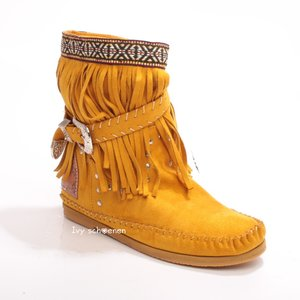 Boots IBIZA ROMANS - Geel
