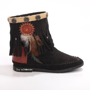 Boots IBIZA JAMES - Zwart