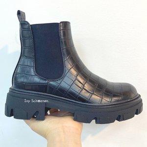 Boots NUKA - Zwart/Croco