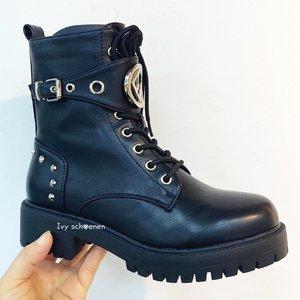 Boots RALPH  DELUXE - Zwart/Zilver