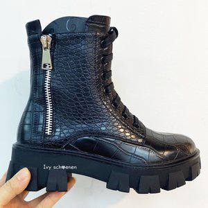 Boots TITO - Zwart/Croco