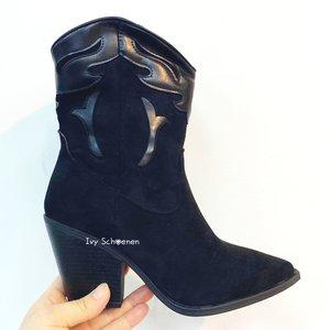 Boots WOODY - Zwart
