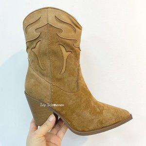 Boots WOODY - Khaki