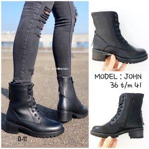Boots JOHN -Zwart