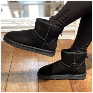 Warme Boots MINI  - Zwart