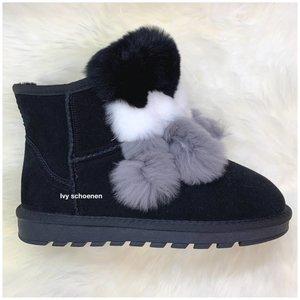 Warme Boots FABS  - Zwart