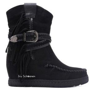 Boots MELODY - Zwart