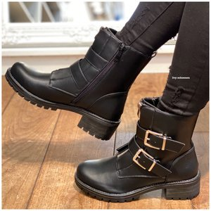 Boots BONO - Zwart