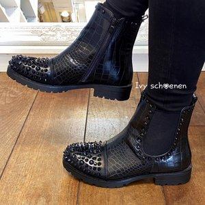 Boots ONYX - Zwart/Zwart