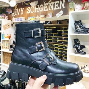 Boots ASHER - Zwart