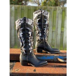 Boots JAYCE - Zwart/Snake
