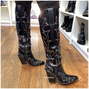 Boots GIGI DELUXE - Zwart
