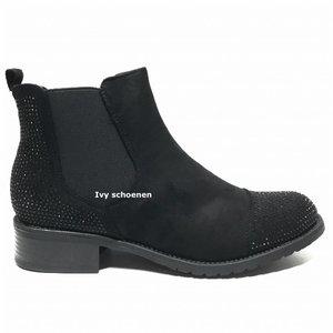 Boots CHIQUE - Zwart