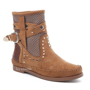 Boots IBIZA ISLAND - Camel