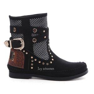 Boots IBIZA ISLAND - Zwart