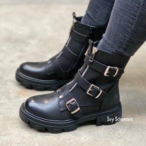 Boots TOGETHER - Zwart