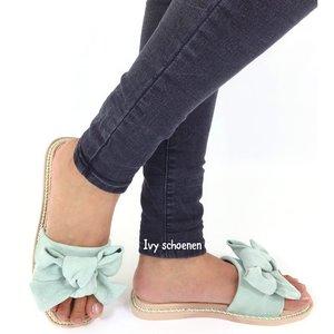 Sandaal LUCILE - Mint Groen