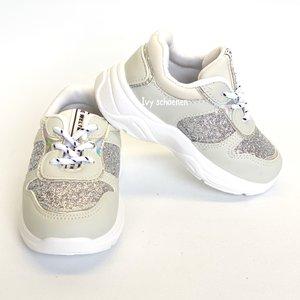 Sneaker OLIVIA - Zilver 19 t/m 24