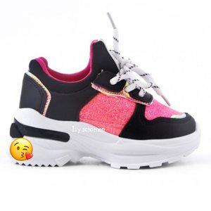 Sneaker OLIVIA - Zwart 25 t/m 36