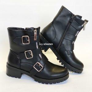 Boots BAYMAX - Zwart