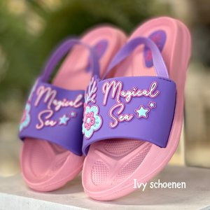 Slipper MAGICAL SEA - Paars/Roze