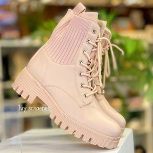 Boots STEIN -Roze