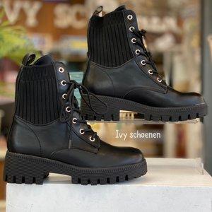Boots STEIN - Zwart