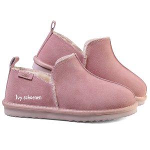 Warme sloffen COMFY - Roze/Flamingo