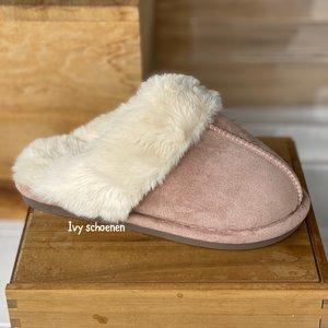 Warme sloffen KATIE - Khaki