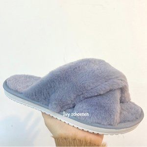 Warme slippers CHARLES - Grijs