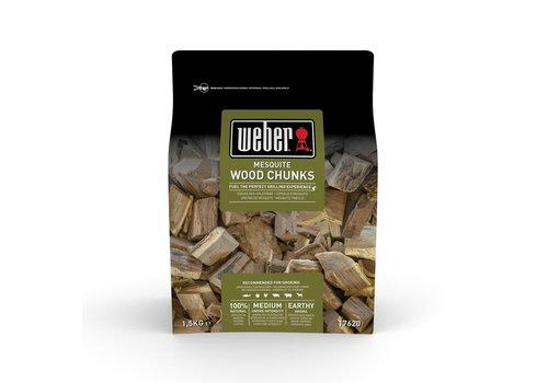 Weber MESQUITE WOOD CHUNKS - 1.5KG