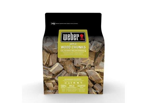 Weber APPLE WOOD CHUNKS - 1.5KG