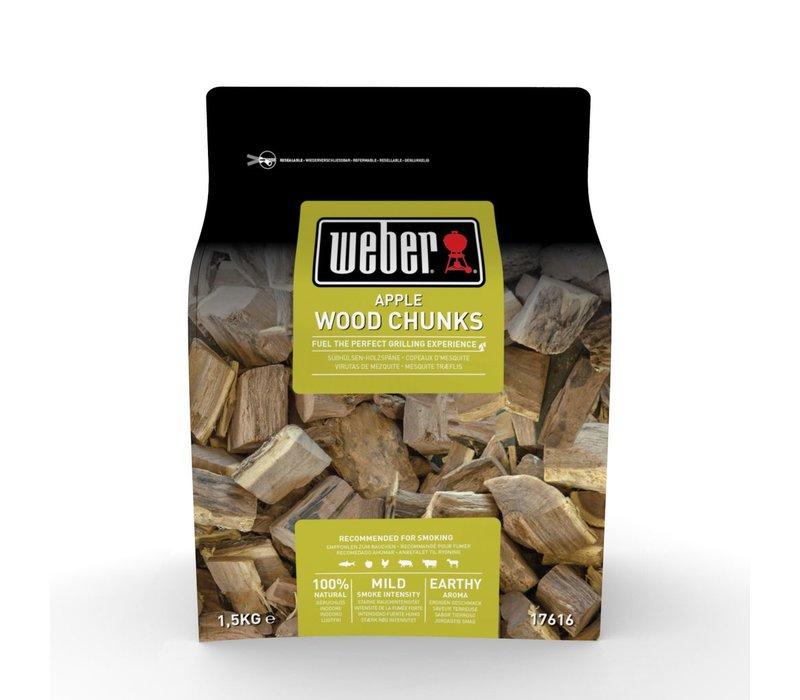 APPLE WOOD CHUNKS - 1.5KG