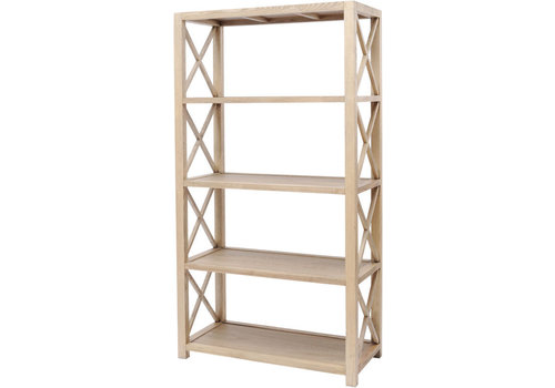 Homestore Darwin Natural Ash Bookshelf