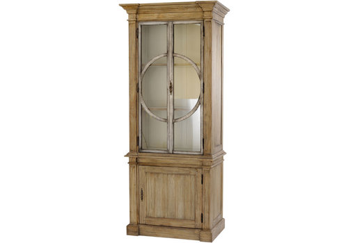 Homestore Homestead Glass Fronted Cabinet