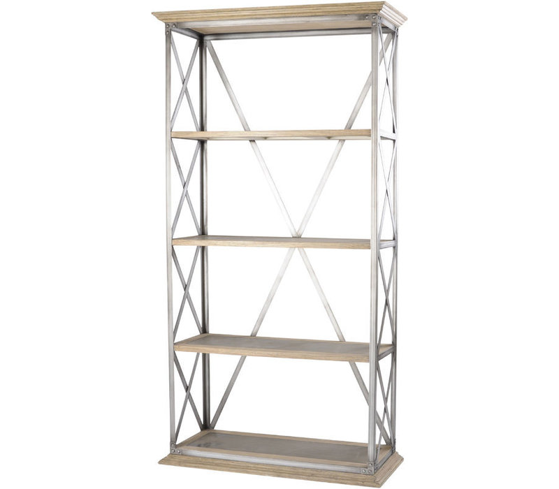 Homestead Cross Frame Tiered Shelving Unit