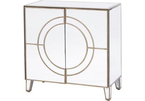 Homestore Claridge Circle Link 2 Door Cabinet