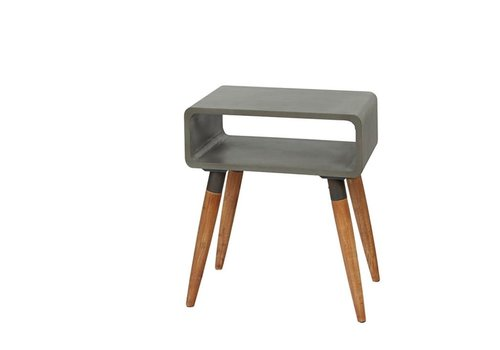Homestore ATRIUM console in concrete &  wood - Small
