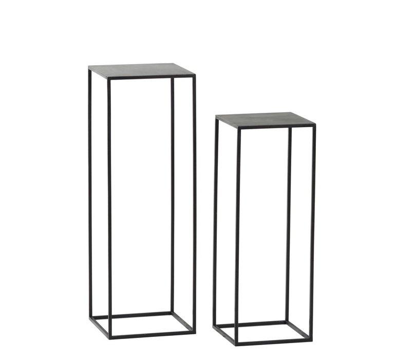 Zen Set of 2 Stands H68/82cm