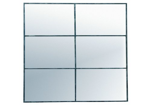 Homestore PALACE mirror 6 partitions in antic silver