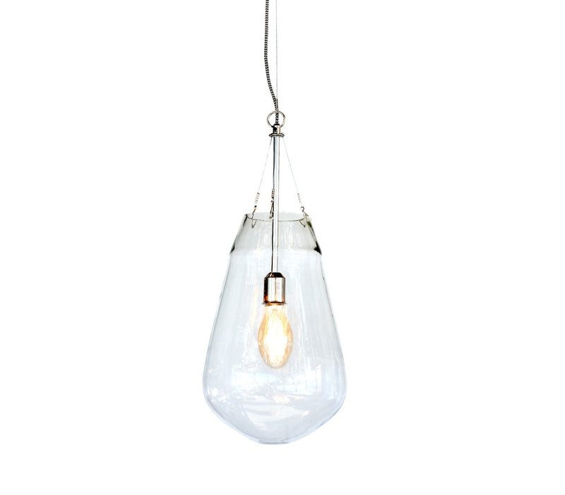 Bullia Hanging Lamp in Blown Glass - Medium
