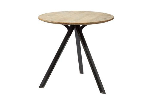 Homestore Compas Side Table in Mango Wood