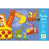 Homestore Educational games - Puzzle duo/trio Articulo Vehicles