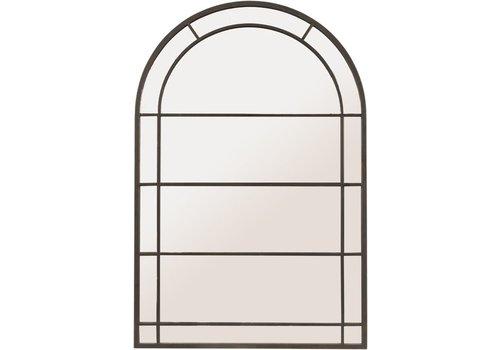 Homestore Black Arch Frame Mirror Large