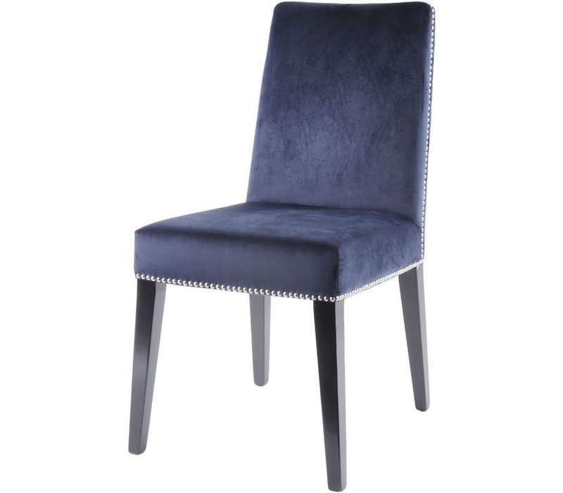 Midnight Navy Dining Chair