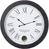 Homestore Antique Black Pendulum Wall Clock